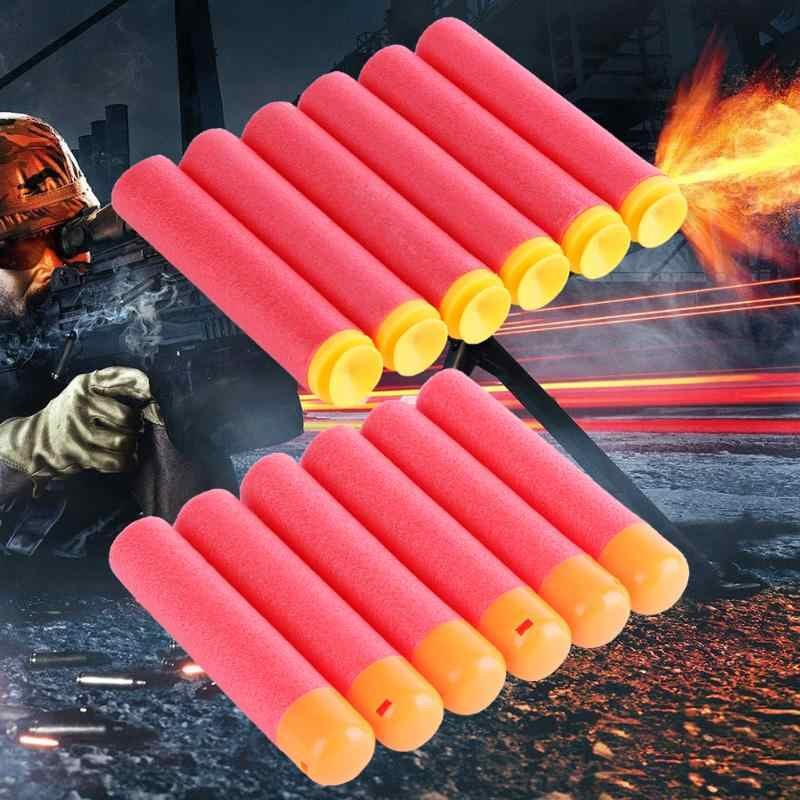 6pcs/lot 95mm EVA Foam Large Refill Darts Toy Gun Bullets for Series Blasters Sucker/Round Head Style Gun Bullets Toy