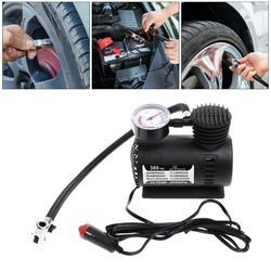 Универсальный 1 шт. 300 PSI 12 В автомобиля Портативный мини компрессор электрический шин насос ж/Манометр