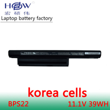 original laptop battery for BPS22 VGP-BPS22 VGP-BPL22 VGP-BPS22A VGP-BPS22/A notebook SONY VAIO E series
