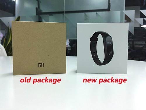 Originale xiaomi mi kompania 2 miband inteligentne centrum vigilanza del braccialetto del nadgarstek monitor oled sonno touchpad della frequ 14