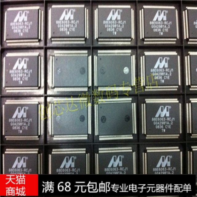 88E6063 RCJ1 QFP New Spot MARVELL 100 Brand CXDWKJ