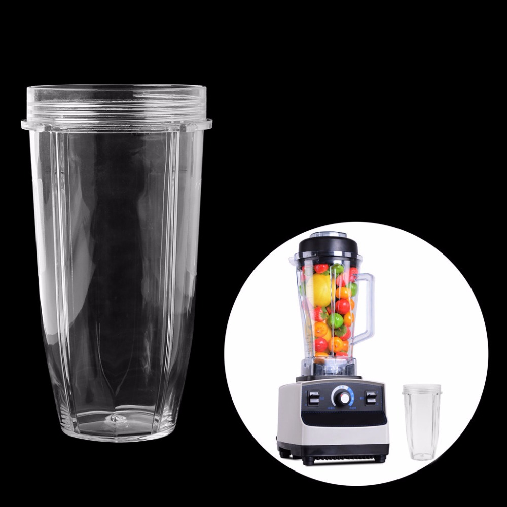 24OZ Juicer Cup Mug Clear Blender Accessory Replacement For Nutri Nijia Blender цена