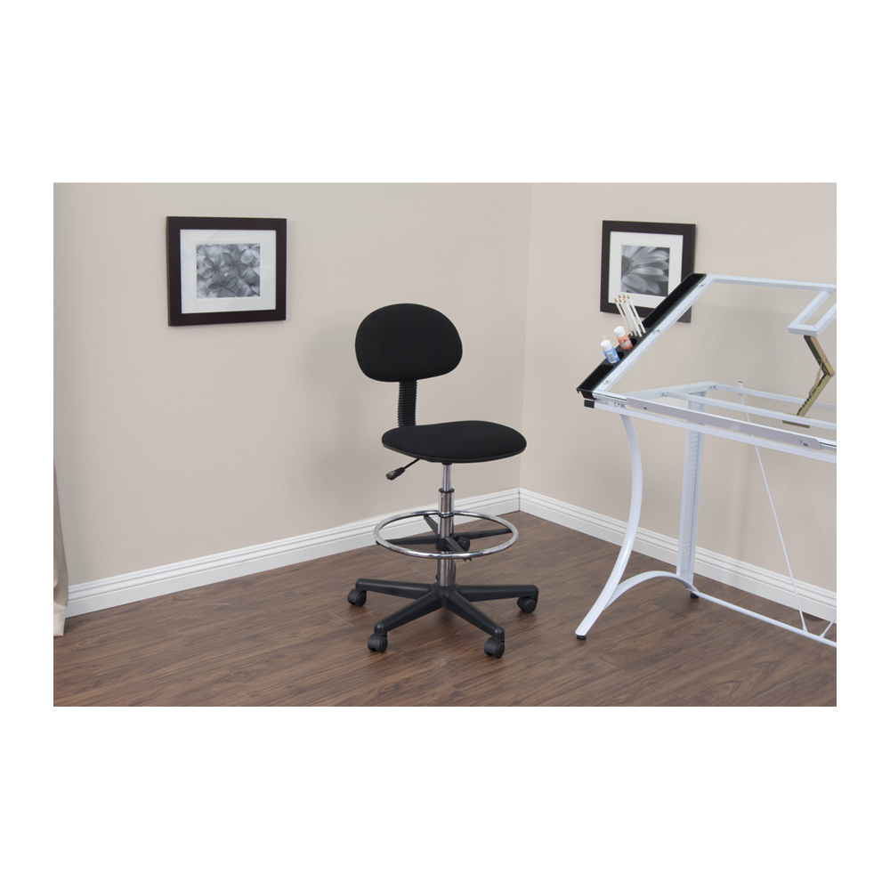 StudioDesigns 18618 Studio Drafting Chair Black