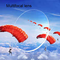 1.56 Free Form Progressive Lenses Multifocal Glasses Prescription Lens For Long and Short Distances