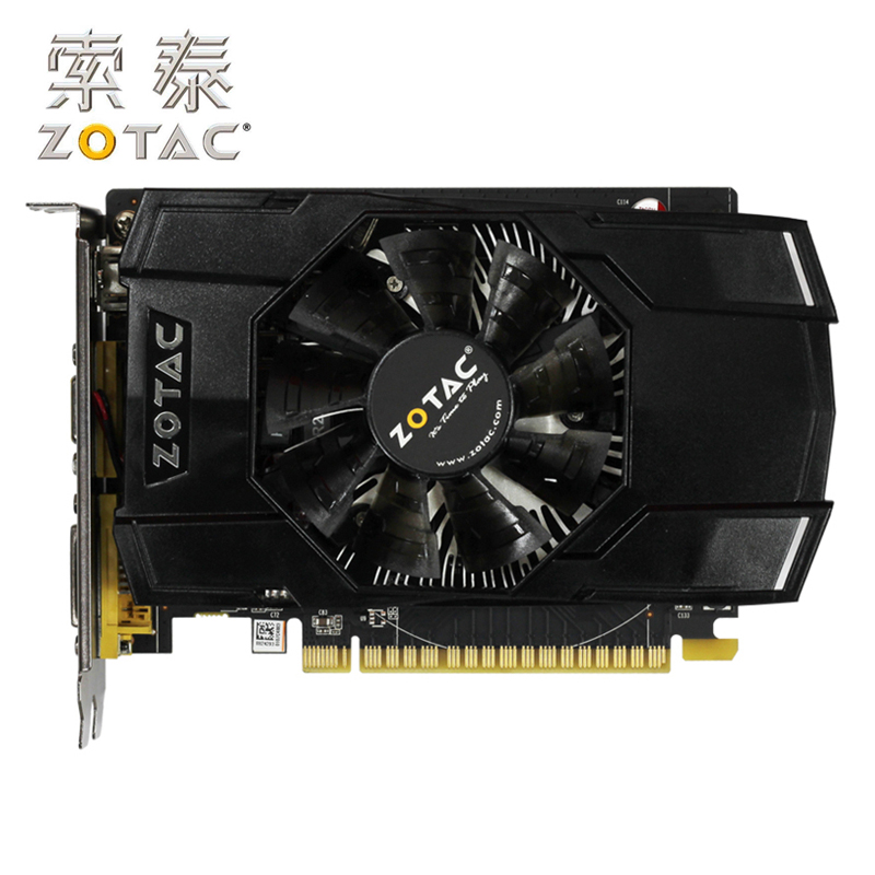 Original ZOTAC Video Card GeForce GTX750-1GD5 Raytheon / Internet Cafe PA 128Bit GDDR5 Graphics Cards For NVIDIA Map GTX750 1G