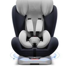 все цены на 360 degree rotation ISOFIX hard interface child safety car seat 0-12 years baby portable booster seat car accessories онлайн