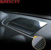 BJMYCYY 1PCS Carbon fiber decoration frame for automobile navigation panel for Audi A3