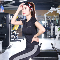 Yoga Suit Female High Bullet Fitness Running Clothes Training Suit Yoga Set Woman Jogging Gym Workout