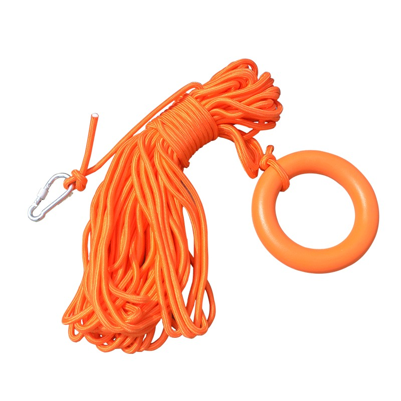 Free Shipping Water Floating Lifesaving Rope Snorkeling