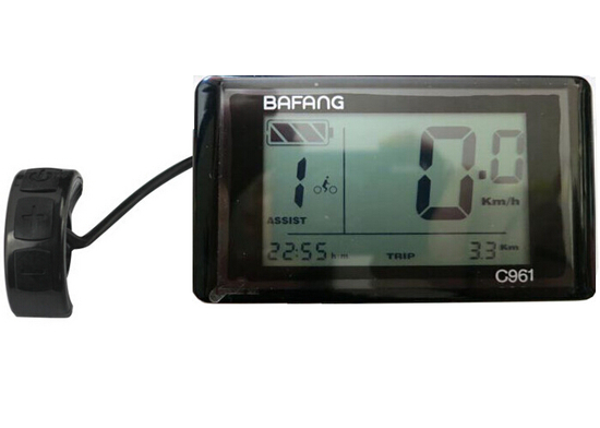 Ekran LCD me çmim të ulët C961 për 8FUN BAFANG pajisje - Çiklizmit - Foto 2
