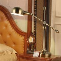 hotel bedroom decorative table lamps living room study desk lamp iron table lamps office light desk lamp dining table light led
