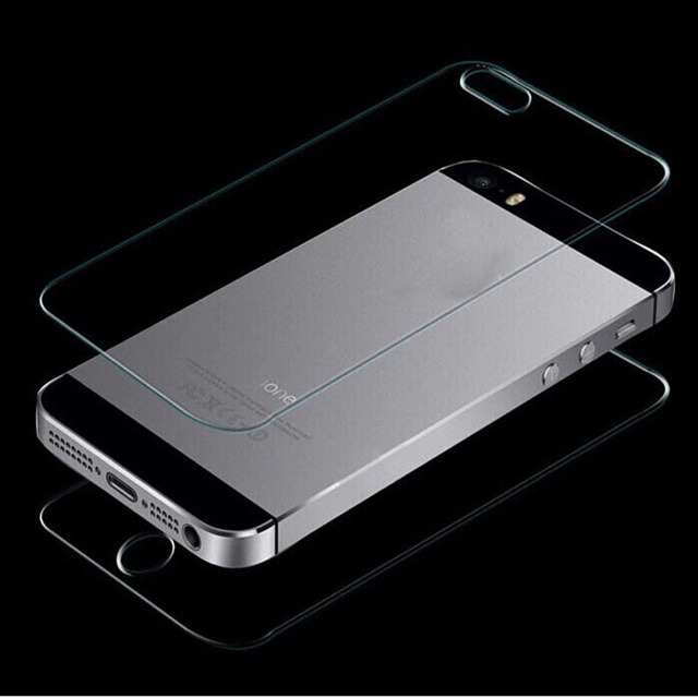 Premium Real Tempered Glass Film Screen Protector Front and Back For iPhone 5g 4 inches On Sale