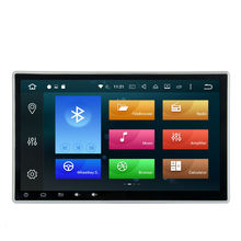 Android 6 0 OS 10 8 Core 2 DIN universal Car DVD GPS Player Stereo AutoRadio