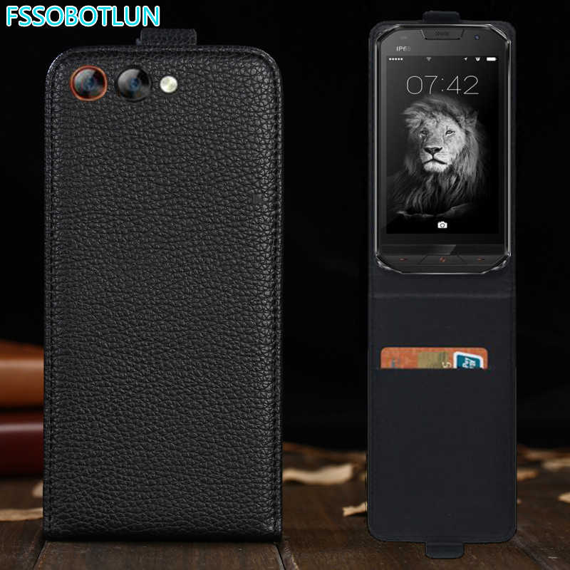 FSSOBOTLUN For Doogee S30 Case Luxury Cartoon Painting vertical phone bag flip up and down PU Leather cover Shell