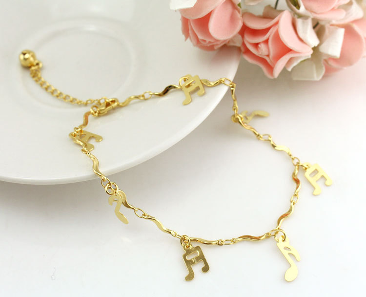 Jewelry Sets & More Anklets Heart Gold Anklet Leg Bracelets Foot Jewelry Ankle Bracelet De Cheville Women Enkelbandje Tornozeleira Pulseras Tobilleras Mujer