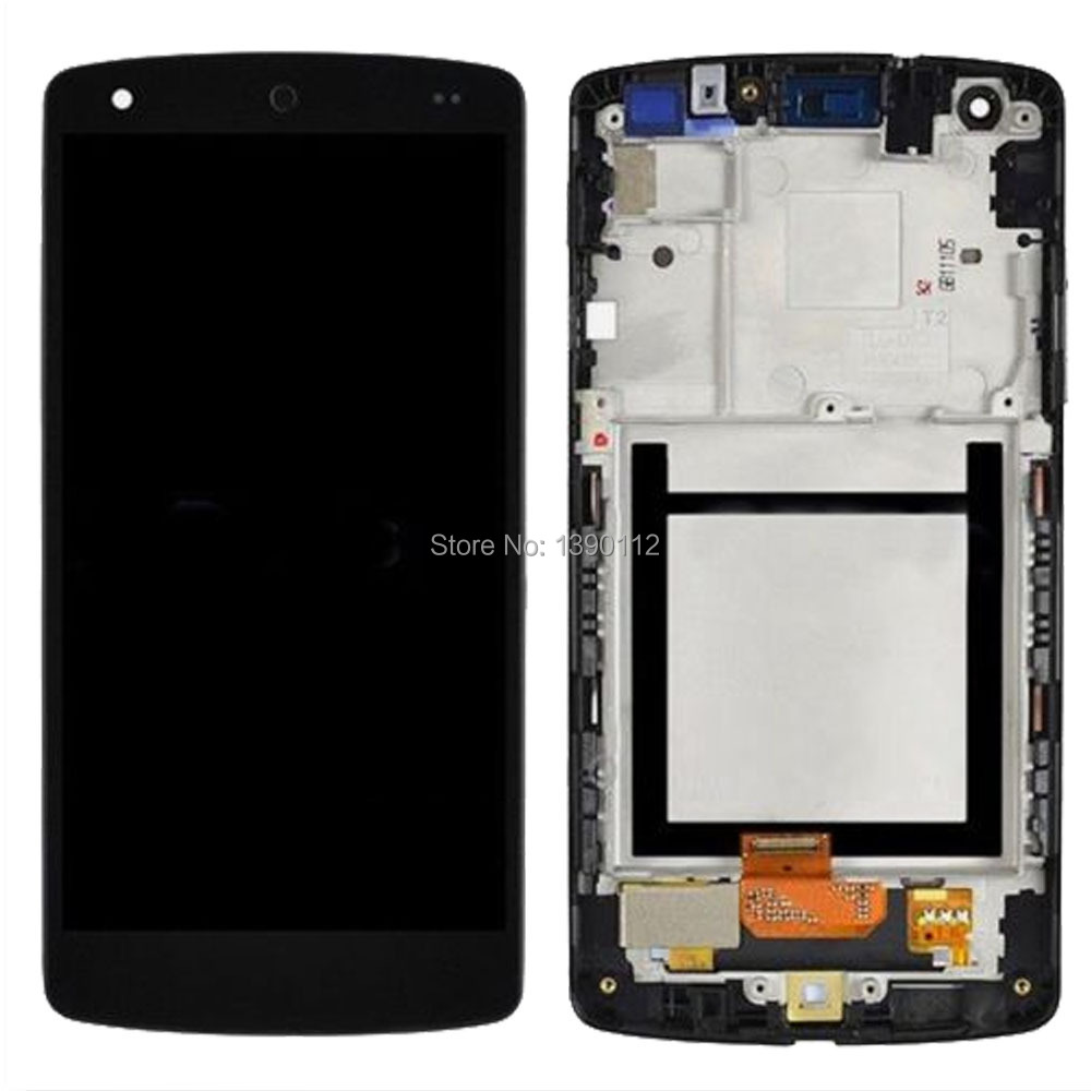LCD Display Touch Glass Digitizer Screen + Frame For Google Nexus 5 LG D820 D821