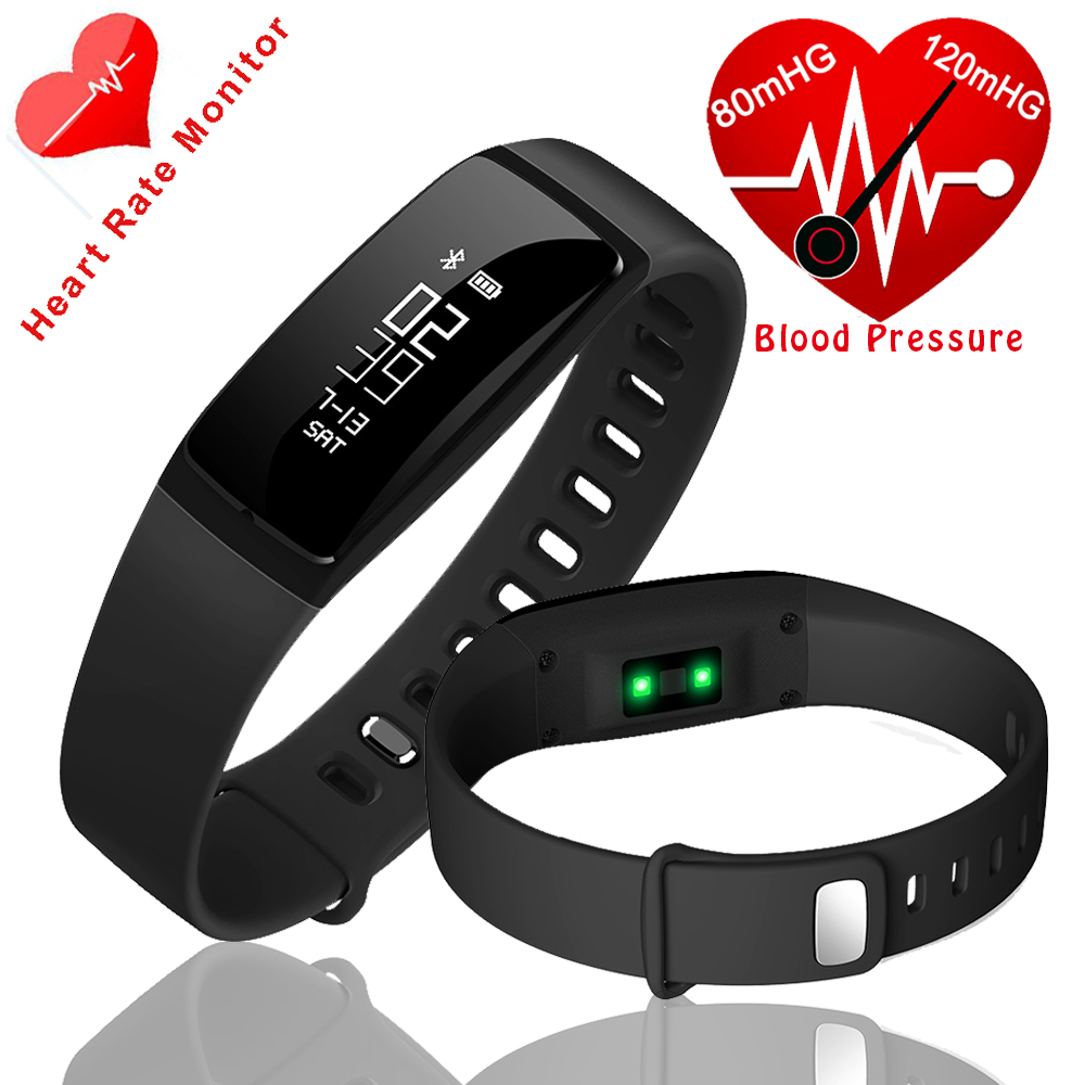 New smart band Watch Blood Pressure Bracelets Smart Wristband Heart Rate Monitor Fitness Tracker ...