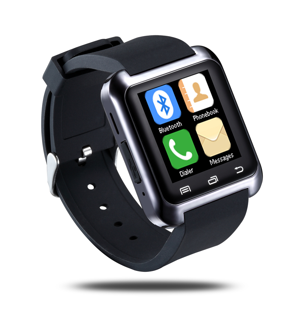 Bluetooth Smart U80 Watch BT notification Anti Lost MTK WristWatch for iPhone 4 4S 5 5S