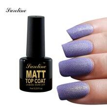 Saroline Matte Top Coat Nail Art Soak Off Color UV Matte Foundation Gel Polish Primer Varnish UV Gel Lacquer