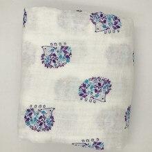 Muslin Cotton Baby Swaddles For Newborn Baby Blankets  Gauze Bath Towel 190g
