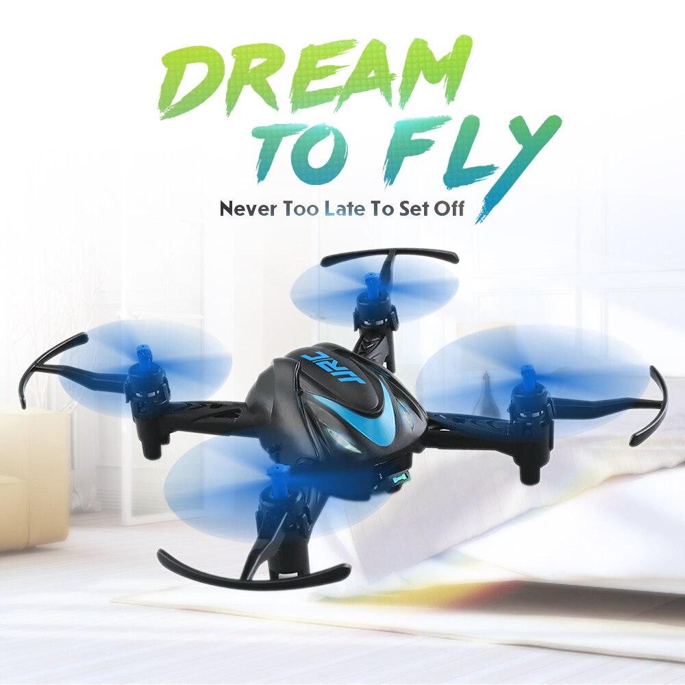 Cadeau de noël JJRC H48 Mini Drone Infrarouge Contrôle RC 4CH 6-Axe 3D Flips Selfie Poche À Distance Quadcopter Dron fly Hélicoptère