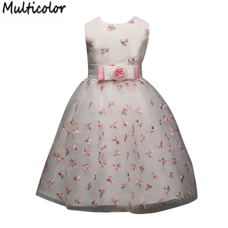 Cool Design Flower Children Girls Princess Children Dress Princess Brand Spring For Girls kids Children Party Wedding Dresses rushdie s midnights children