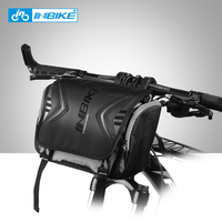 INBIKE Large Capacity Cycling Bike Accessories Waterproof Bike Bag Handlebar Front Tube Bag Bicycle Pocket Shoulder Backpack H 9