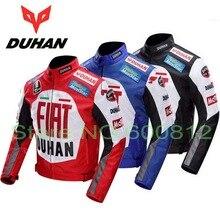 ДУХАН профессиональный Moto racing костюмы куртки мотоцикл езда одежды Куртки мужские off-road мотоцикл куртка 600D Оксфорд