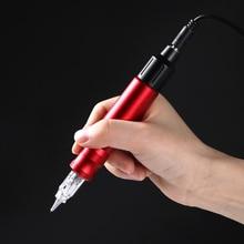 Гибридный Регулируемый Алюминий поворотный насадка для татуировочной машины для перманентного макияжа иглы картриджи татуировки & Art EM202