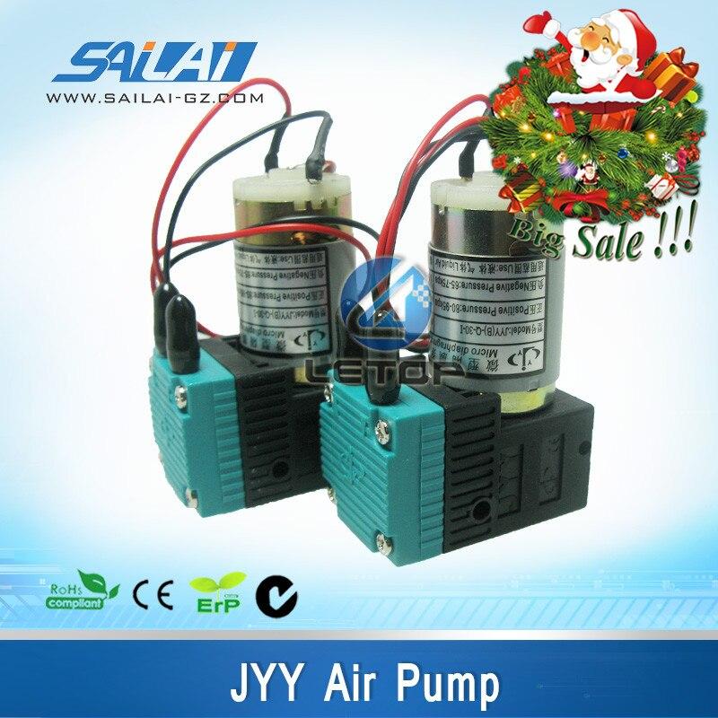 Bonne qualité!! imprimante pièces de rechange JYY 7 W DC 24 v pompe à air pour l'impression solvant