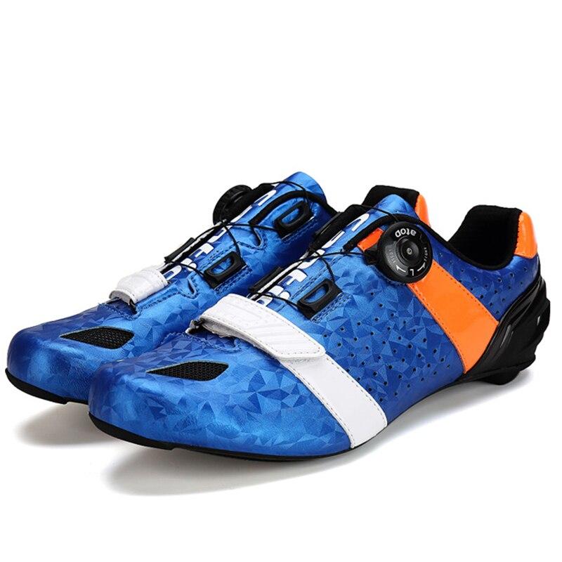Santic Велоспорт обувь углеродные волокна Дорожный велосипед обувь авто-замок обувь Спортивная Сверхлегкий дышащий Дорожный велосипед Велоспорт оборудование