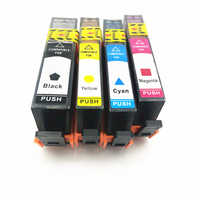 Vilaxh Compatible cartouche d'encre 364 XL remplacement pour HP 364 HP364 684EE cartouche d'encre Deskjet 3070A 5510 6510 B209a imprimante