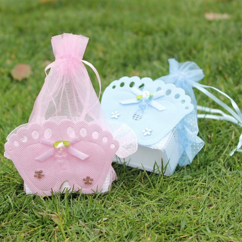 12Pcs Wedding Decorations Baby Shower Gift Bags Baby