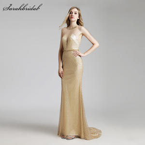 Evening-Dresses Robe-De-Soiree Luxury Prom-Gowns Mermaid Real-Photos-Lsx449 New-Arrivals
