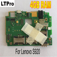 LTPro 100 Test Working 4GB RAM Mainboard For Lenovo S920 Motherboard Smartphone Repair Replacement Parts
