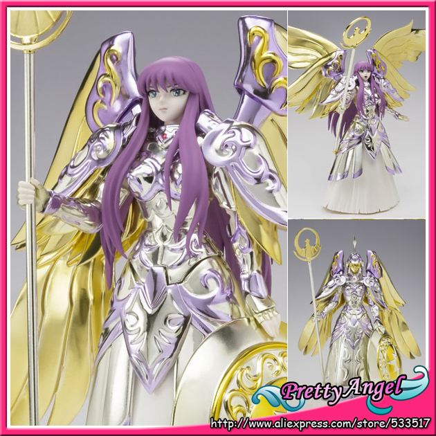 цена Japanese Anime Original Bandai Saint Seiya Saint Cloth Myth Athena Action Figure