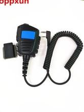 OPPXUN Speaker MIC For Kenwood TK2160 TK370 TK3402 TK2312 BAOFENG UV-5R UV5RA Walkie Talkie Belt Clip