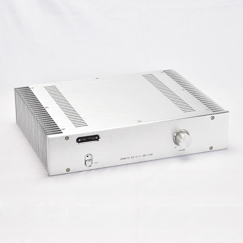 BRZHIFI BZ3608A double radiator aluminum case for power amplifier