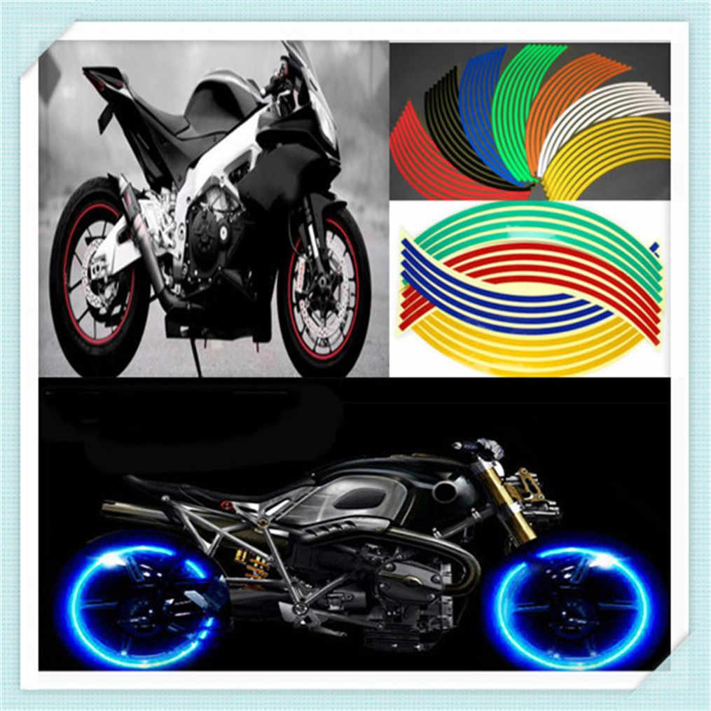 Universal motorbike motorcycle 17 18 wheel sticker for honda cbr250r vfr 1200 f st