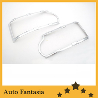 Auto Chrome Parts Chrome Head Light Cover for Range Rover HSE (L322) 11 13 Free Shipping