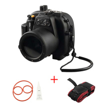Meikon 40M/130FT Underwater Waterproof camera Housing Case for Canon EOS 650D 700D Waterproof camera bag meikon 40m wp dc44 waterproof underwater housing case 40m 130ft for canon g1x camera 18 as wp dc44