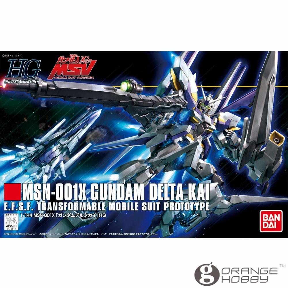 OHS Bandai HGUC 148 1/144 MSN-001K Gundam Delta Kai Mobile Suit Assembly Model Kits ohs bandai mg 187 1 100 msn 00100 hyaku shiki ver 2 0 mobile suit assembly model kits