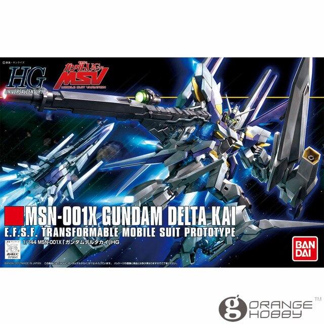 2af2c632ed47 OHS Bandai HGUC 148 1 144 MSN-001K Gundam Delta Kai Mobile Suit Assembly  Model Kits