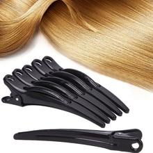 SALE Salon Hair Professional 6Pcs Practical Plastic Prong Alligator Teeth Bows Hair Clips Exquisite Craftsmanship Dropshipping