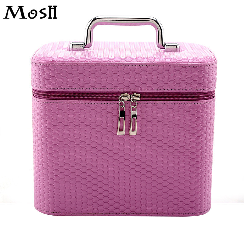 Cosmetics Case Large Capacity Waterproof Travel Organizer Makeup Case Daily Necessaire Toiletry Vanity Make Up Box Pouch Bag