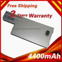 4400mAh Laptop Battery For Dell Latitude D820 D531 D531N D830 Precision M4300 M65 310-9122 312-0393 312-0401(China)