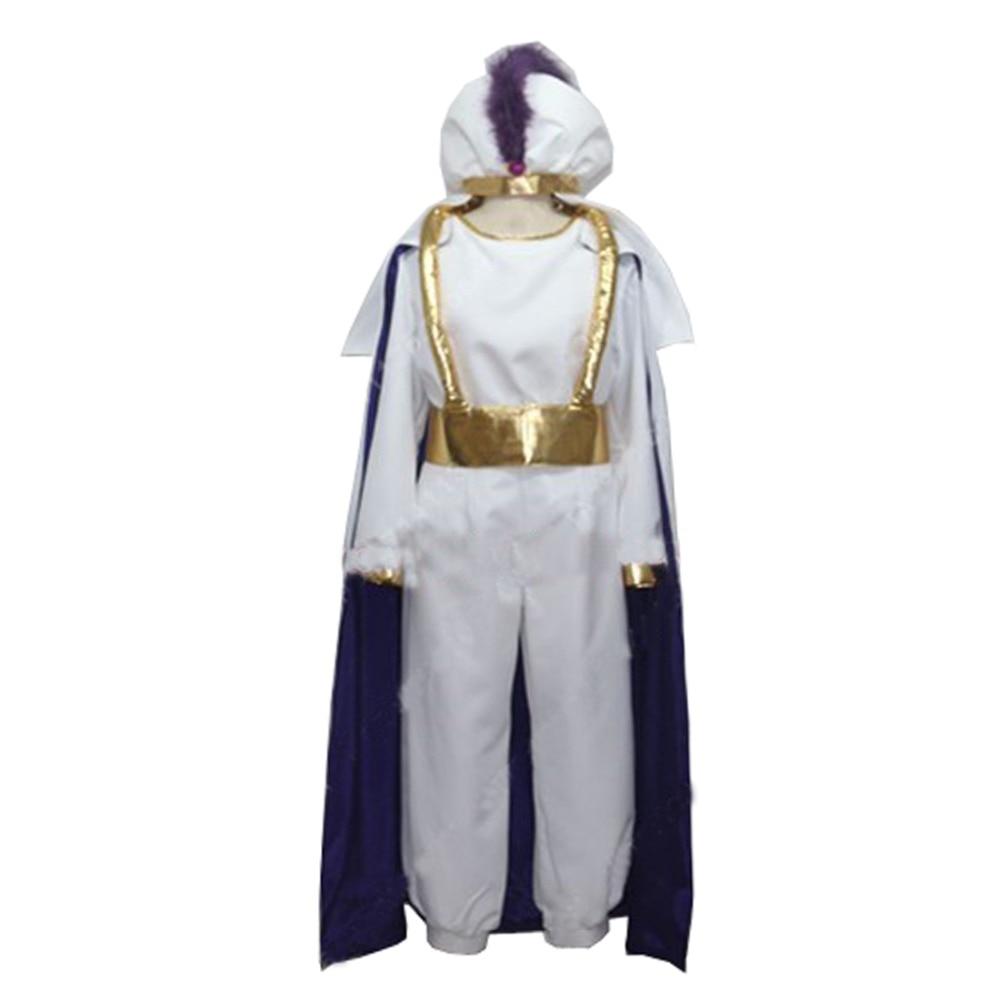 2017 Aladdin Lamp Prince Aladdin Costume For Adult Man Halloween Party Movie Cosplay Costume Custom Made