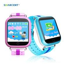 SMARCENT GPS Q750 Q100 Niños Reloj Inteligente con Wifi 1.54 pulgadas Táctil Dispositivo de Localización de Llamadas SOS Perseguidor de Sreen para Kid Safe pk Q50 Q90