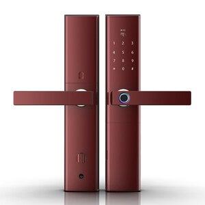 Image 3 - Keyless serrure intelligente à empreintes digitales, serrure de porte électronique et biométrique intelligente