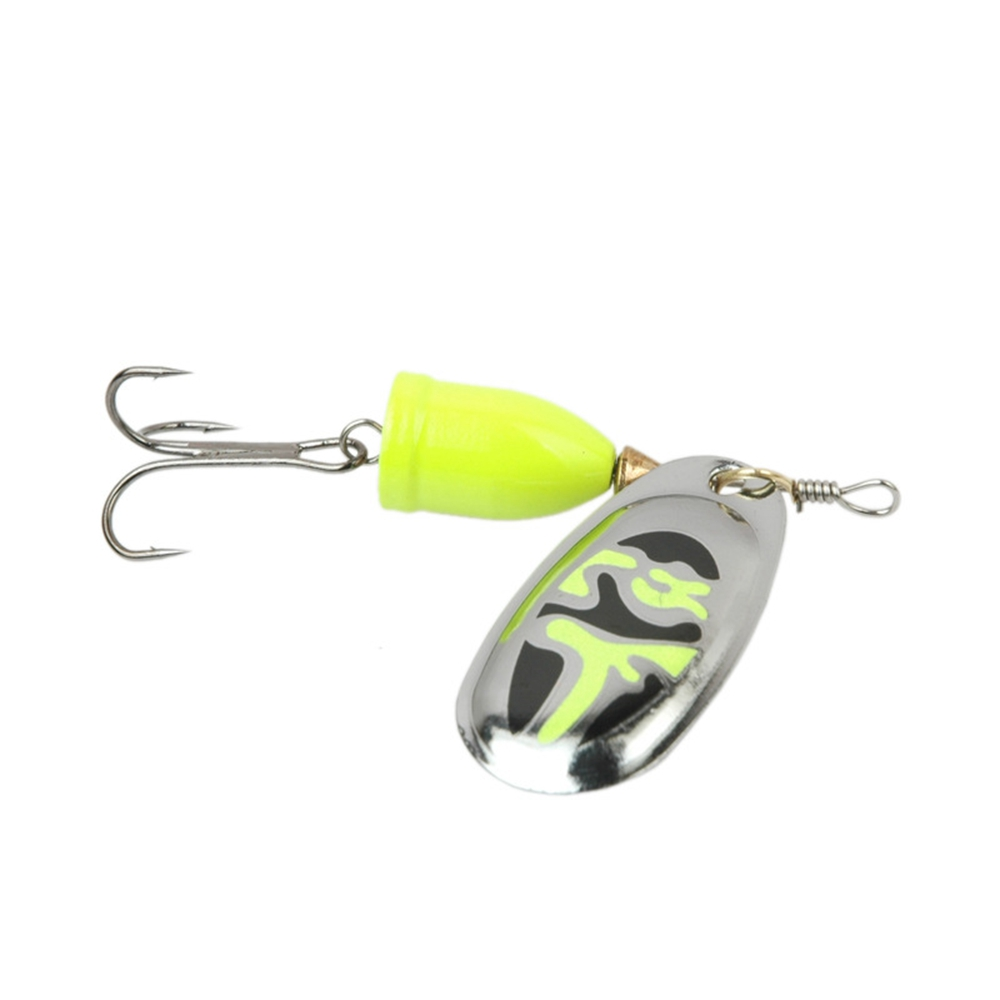 Image 5 - Spinner bait Carp Fishing tackle 5 g/8g/10g/13g Metal Spoon Fishing Lure Sequins Noise Isca Artificial Pesca Wobbler 4 Color-in Fishing Lures from Sports & Entertainment